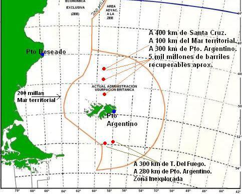 Malvinas: el Petroleo e Inglaterra